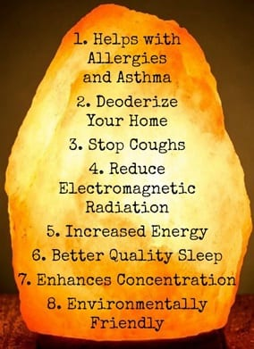 Benefits of the Himalayan Salt Lamp