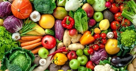 Vegetables essential in your diet