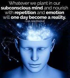Subconscious mind quote