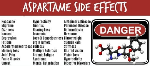 Aspartame side effects 2