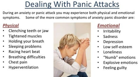 Dealing with panic attacks