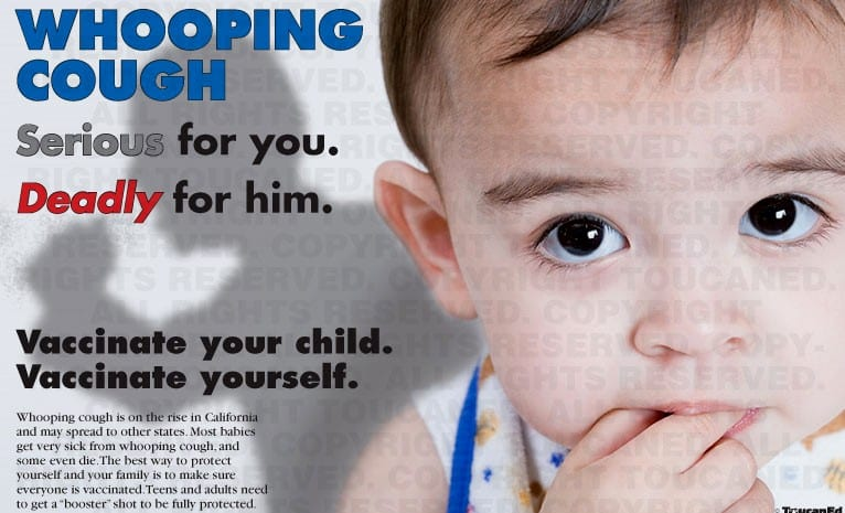 Whooping cough dangers infants