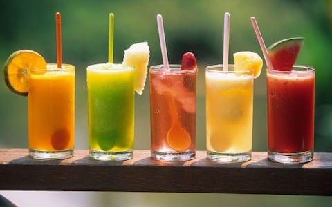 Vegetable fruit juices