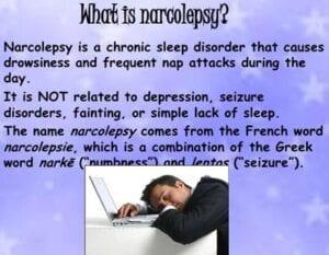 Signs symptoms narcolepsy