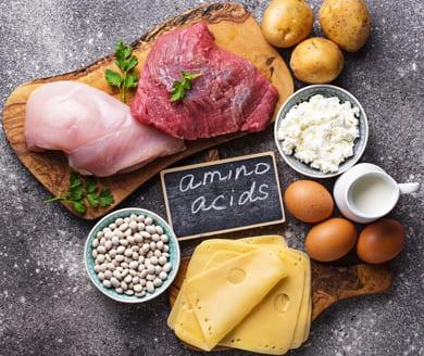 Amino Acids in food