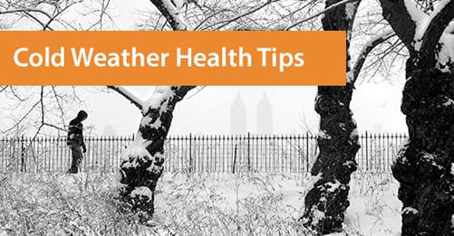 Cold weather health tips