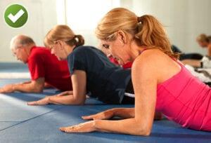 Exercises Ease Back Pain