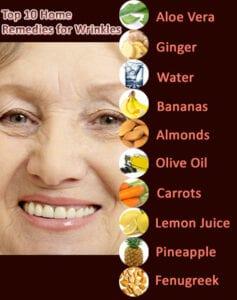 Home remedies wrinkled skin