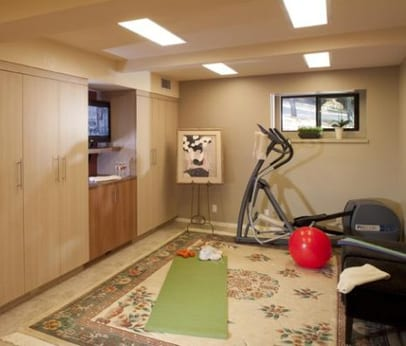The fitness home gym