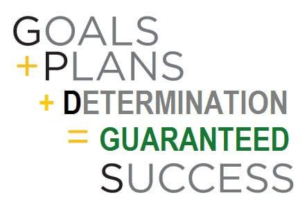 Goals plans equal success