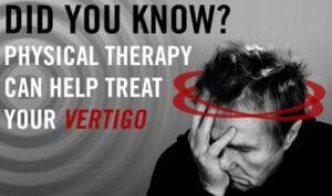 Lifestyle changes for vertigo. Physical therapy
