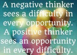 The negative thinker.